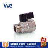 High Quality Sanitary Mini Ball Valve (VG-A40502)