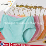 Wholesale Bamboo Fiber Solid Color Underwear Teen Sexy Girls Briefs Tumblr