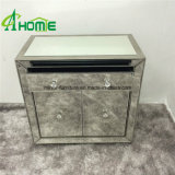 Modern Mirrored Bedside Chest Mirrored Nightstand Bedroom Mirrored Chest