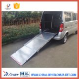 Aluminium Manual Wheelchair Ramp for Van (BMWR-3)