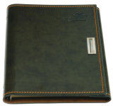 Office Supply with Lock PU Leather Notebook Printing