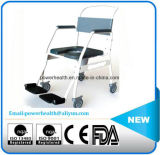 Lavatory Steel Commode Wheelchair