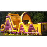 New Style Large High Quality PVC Outdoor Inflatable Obstacle Course for Sale