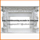 Angel Marble Fireplace Mantel Mf1721