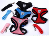 China Factory Stocked Pet Products Air Mesh Dog Harness and Leash Set