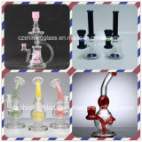 Wonderful Recycler Glass Water Smoking Pipe with Various Designs