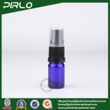 5ml Cobalt Glass Spray Bottles with Black Lotion Pump Sprayer