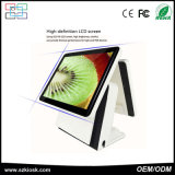 15 Inch Dual Touch Screen Terminal Restaurant POS System