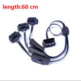 OBD2 Converter Adapter 3 in 1 Extension Cable with Switch