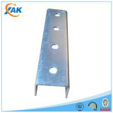 Hot Dipped Galvanized Slotted&Plain Strut U Channel Steel with Strut Clamp