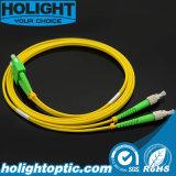 Sc APC to FC APC Dx Sm Fiber Optic Patchcord