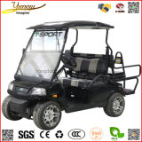 Sport Model Car 4WD Electric Golf Cart 4 Seats SUV 4 Wheel Vehicle Sightseeing Jeep