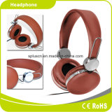 Brown Factory Best Selling Computer Headset Internet Cafe Headphone