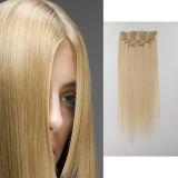 Peruvian Virgin Hair Clip-in Hair Extension Bundles 100% Human Hair Weave