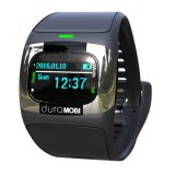 0.96 Inch OLED IP65 Waterproof Smart Watch with Dual Bands Bluetooth & Dynamic Heart Rate, ECG, Blood Pressure, Sleep Monitor.
