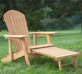 Best Price Garden Furniture Backrest Bench Foldable Padded Wood Chair