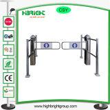 Stainless Steel Swing Gate for Supermarket