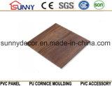 Wooden Laminated Plastic Building Material PVC Ceiling Wall Panel, Cielo Raso De PVC