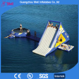 Hot Sell Inflatable Water Games Aqua Sport Water Slide and Trampoline