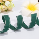 Cheap Custom Stripe Grosgrain Ribbon for Garment Design