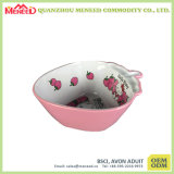 New Design BPA Free Children Use Plastic Fruit Bowl