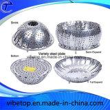 Household Stainless Steel Steamer or Fruit Plate