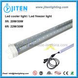 ETL LED Cooler Light, 5FT LED Freezer Light 20W V Shape T8 LED Cooler Tube Light, LED Cooler Inner Door Light