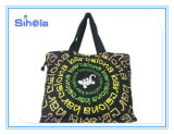Two Size Gecko Design Gradient Ramp Print Totes
