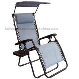 Zero Gravity Recliner Lounge Beach Chair with Steel Tube