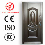 Inexpensive Price Home Single Stainless Metal Safety Door Design