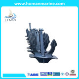 Marine Ship Stockless a Type Hall Anchor with Certificate