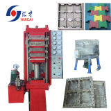 Rubber Tile Making Machine, Rubber Foor Tiles Vulcanizing Press Machine