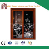 Double Glazing Aluminum/Aluminium Sliding Door