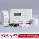 German Voice Instruction! New GSM Alarm System with LCD Display and Touch Keypad