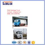 Faw Garbage Compress Truck 4X2 12cbm Compactor Truck