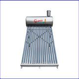 Stainless Steel Solar Energy Water Heater with Assistant Tank