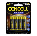 High Capacity AA Dry Alkaline Battery