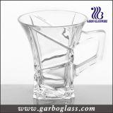 5oz Tea Drinking Glass Mug with Handle (GB092105K3)