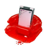 Red Inflatable Mobile Holder Toy