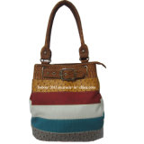 Fashionable PU Leather Lady Designer Handbag (BN-1248)
