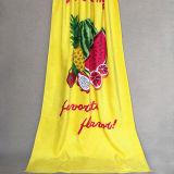 Yellow Fruit Printing Cotton Beach Towel Cutomize Beach Towel