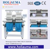 Holiauma 2 Head Computer Embroidery Machine for T Shirts and Caps /Towel Tubular Embroidery Machine