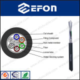G652D FRP Central Strength Member Dielectric Optical Fiber Cable (GYFTY)