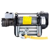 4WD Parts 24V Electric Winch 12000lbs with Synthetic Rope Winch 4X4 off Road for Sale