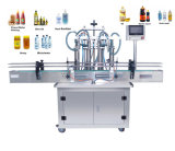 Auto Lotion Bottle Cosmetic Filler Water Beverage Honey Cream Piston Paste Liquid Filling Filler Machine