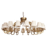 Iron Pendant Lighting Chandelier for Hotel Project (SL2089-18)