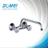 Durable Sink Kitchen Mixer: Brass Body Zinc Handle (BM56602)