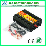 Queenswing Battery Charger 50A Power Battery Charger with Three-Phase Charging Mode (QW-50A)