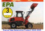 Everun CE Approved 1.2ton Mini Farm Loader