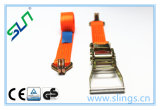 Load Restriant Lashing and Lifting Ratchet Tie Down Strap